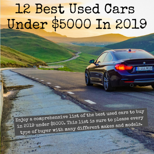 Best Used Cars Under 5000 2019 12 Best Used Cars Under $5000 in 2019   Saved by the Cents